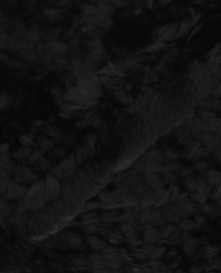 Rabbit fur scarf BON GENIE GRIEDER
