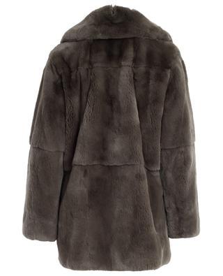 Rabbit fur coat YVES SALOMON