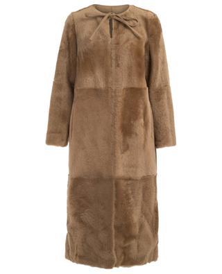 Reversible shearling coat YVES SALOMON