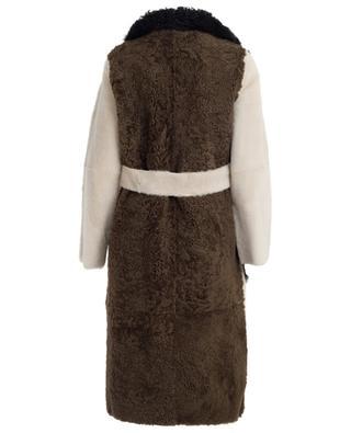 Manteau réversible en peau lainée YVES SALOMON