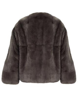 Short rabbit fur jacket YVES SALOMON