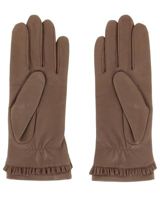 Leather gloves AGNELLE