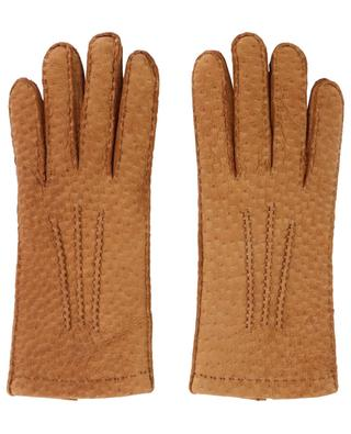 Aude peccary leather gloves AGNELLE
