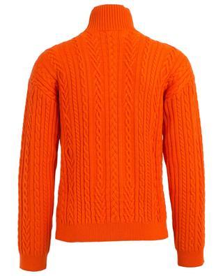 Memento n°3 ool blend cable knit jumper KENZO