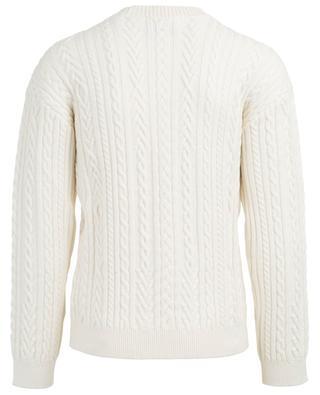 Memento n°3 wool blend cable knit jumper KENZO