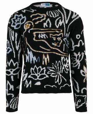 Bestickter Pullover aus Wolle Memento KENZO