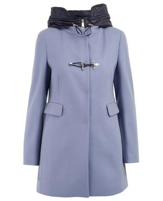 Virgin wool blend coat FAY
