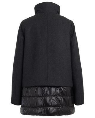 Mantel aus Wolle, Kaschmir und technischem Material FAY