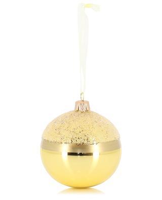Boule de Noël dorée KAEMINGK