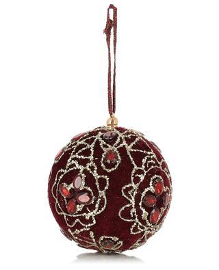 Boule de Noël en velours KAEMINGK
