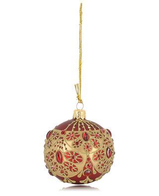 Boule de Noël en verre GOODWILL