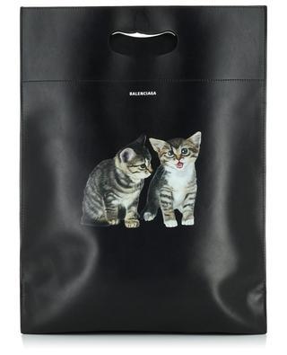 Plastic Bag Shopper S leather tote bag BALENCIAGA