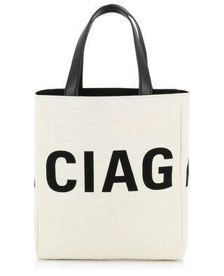 Small canvas tote bag with logo BALENCIAGA