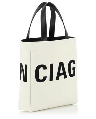 Small canvas tote bag with logo BALENCIAGA