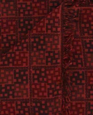 Cashmere and silk scarf PEW-CS HEMISPHERE