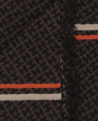 Schal aus Kaschmir und Seide Radestripe-CS HEMISPHERE