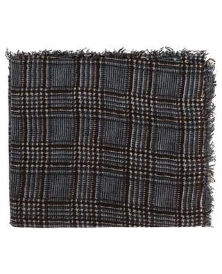Pcolcheck wool scarf HEMISPHERE