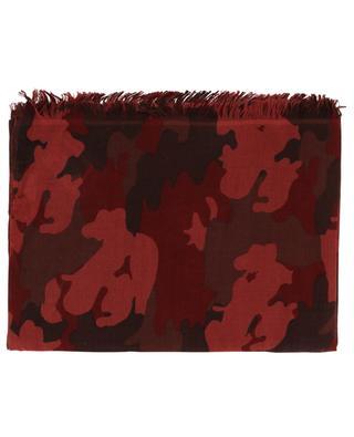 Schal aus Kaschmir und Seide Pamouflage HEMISPHERE
