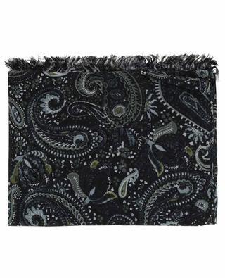 Panza cashmere and silk scarf HEMISPHERE