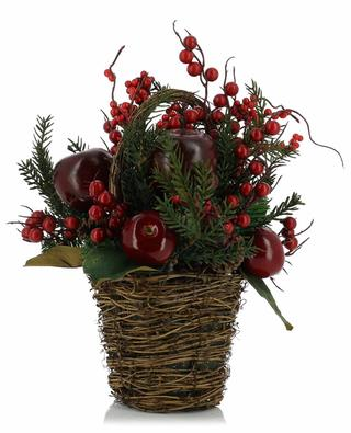 Luxury Apple Basket arrangement ENCHANTE