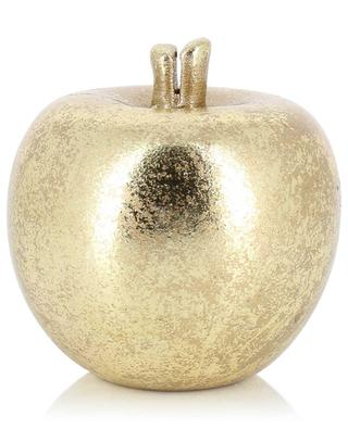 Golden ceramic name-tag holder JOLIPA