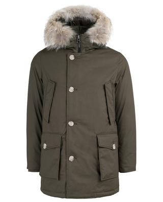 Laminated parka with fur WOOLRICH