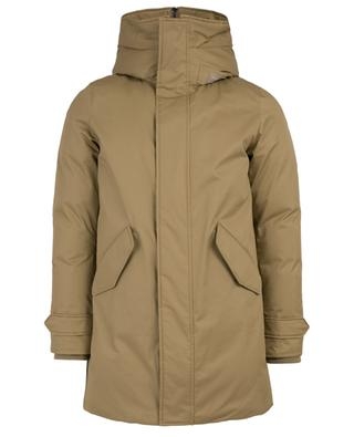 Parka avec capuche en peau lainée Military WOOLRICH. +   - Survoler l image  pour effectuer un zoom 108c5106f31
