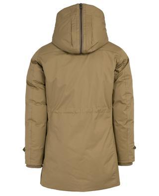Parka avec capuche en peau lainée Military WOOLRICH