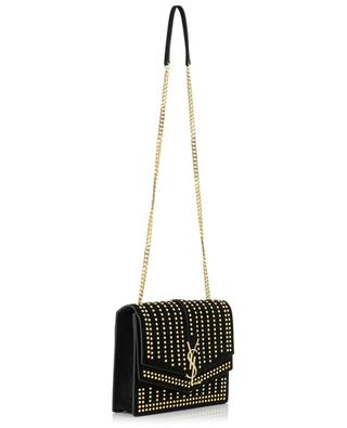 Sac en daim orné de studs Sulpice Medium SAINT LAURENT PARIS