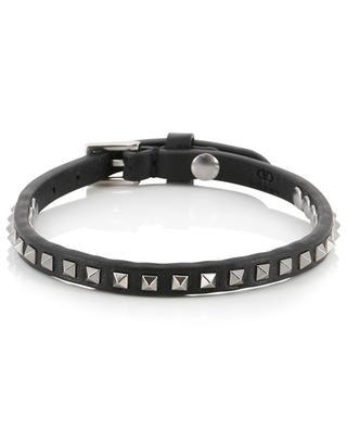 Rockstud No Limit leather bracelet VALENTINO