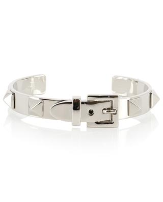 Rockstud silver metal bracelet VALENTINO