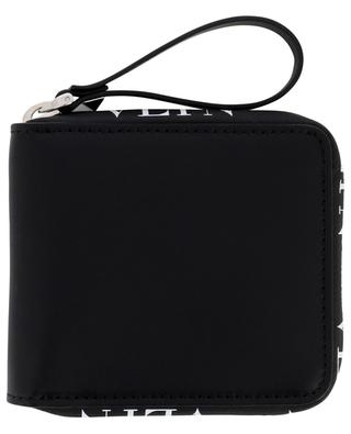 VLTN small zippered leather wallet VALENTINO