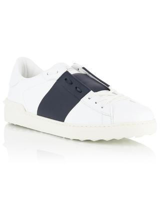 Open low-top leather sneakers VALENTINO
