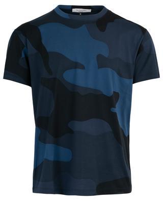 Macrocamouflage print T-shirt VALENTINO