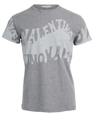 Valentino Waves cotton T-shirt VALENTINO