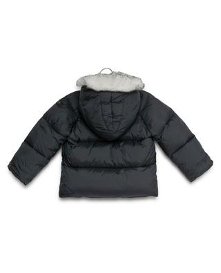 Hooded down jacket IL GUFO