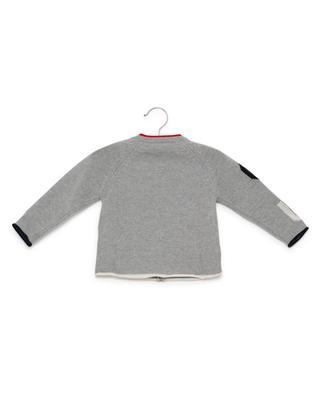 Cardigan en laine vierge IL GUFO