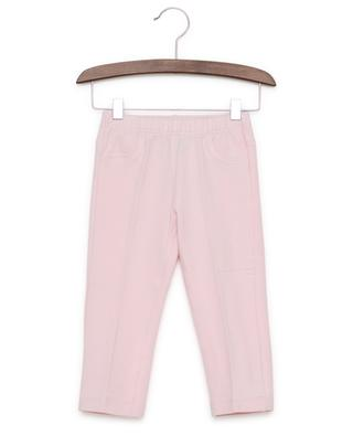 Cotton blend slim fit trousers IL GUFO