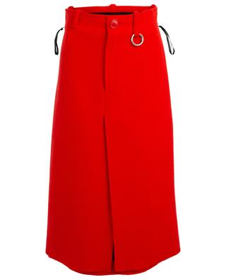 Virgin wool blend midi skirt BALENCIAGA
