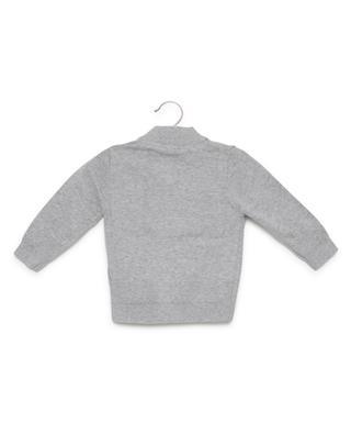 Cardigan zippé en coton TIMBERLAND