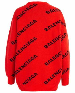 Virgin wool jumper BALENCIAGA
