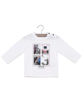 Bedrucktes T-Shirt mit langen Ärmeln TIMBERLAND