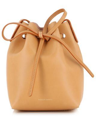 Mini leather bucket bag MANSUR GAVRIEL