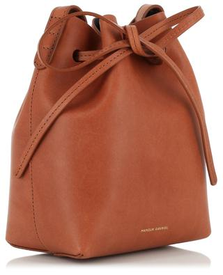 Mini leather bucket bag MANSUR GAVRIEL