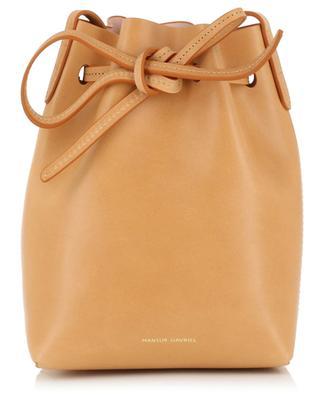 Mini-Bucket-Tasche aus Leder MANSUR GAVRIEL