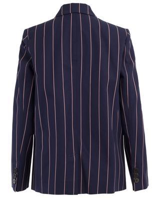 Striped cotton blazer VICTORIA BECKHAM