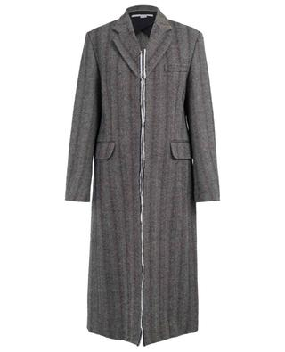Straight wool blend coat STELLA MCCARTNEY