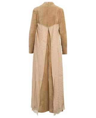 Simone long velvet and silk dress STELLA MCCARTNEY