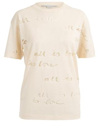 T-Shirt aus Lyocell-Mischgewebe STELLA MCCARTNEY