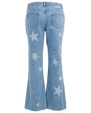 Verkürzte, ausgestellte Jeans mit Sternen STELLA MCCARTNEY